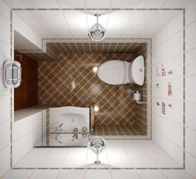 ремонт ванной комнаты 150 на 130