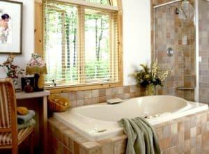 Ремонт в ванной с окном