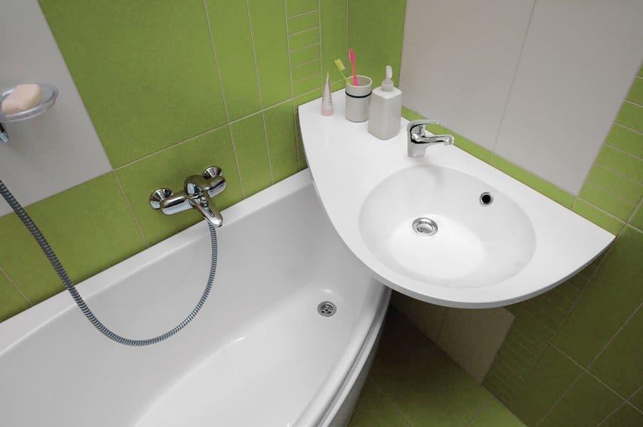 Ремонт раковины в ванной