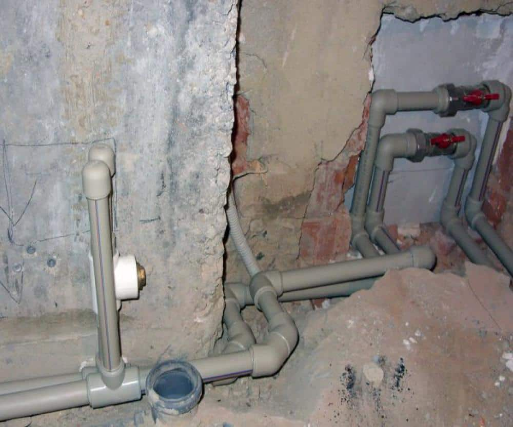 начало ремонта ванной комнаты своими руками