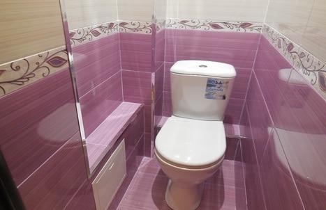 ремонт ванной и туалета в квартире