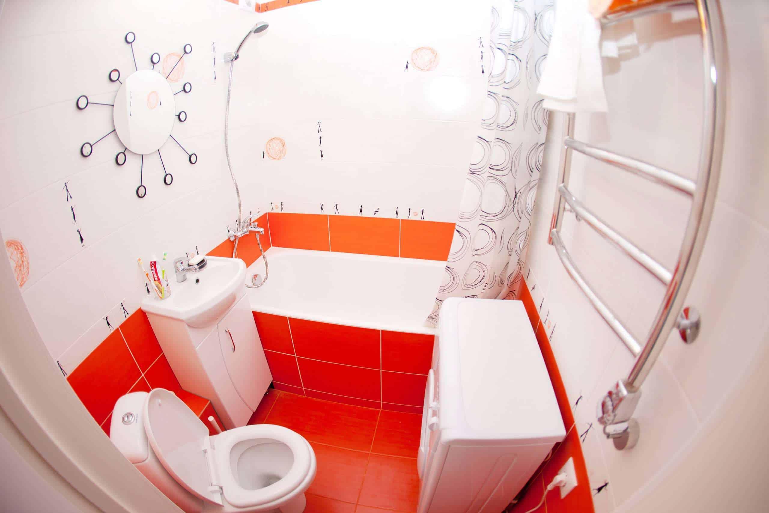 Готовый ремонт ванной и туалета