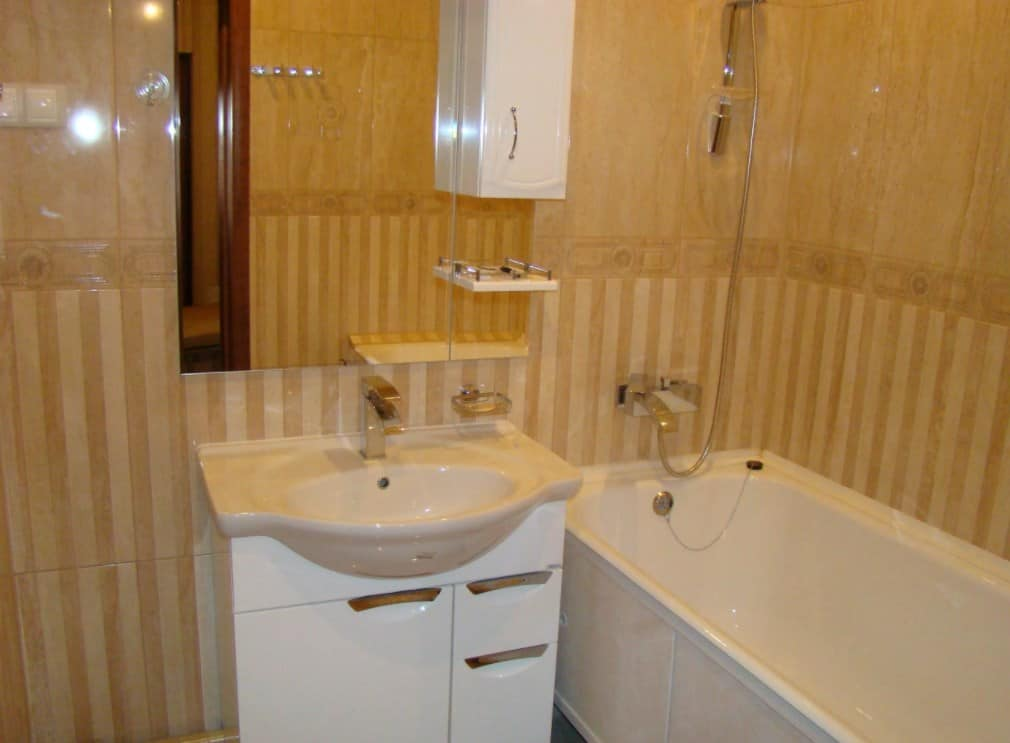 Косметический ремонт ванной и туалета
