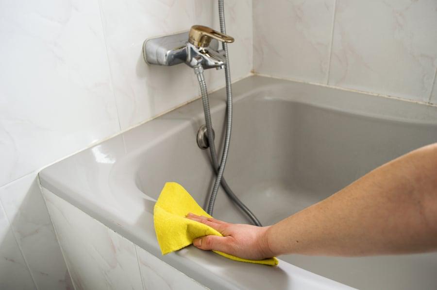 мытье ванны в домашних условиях