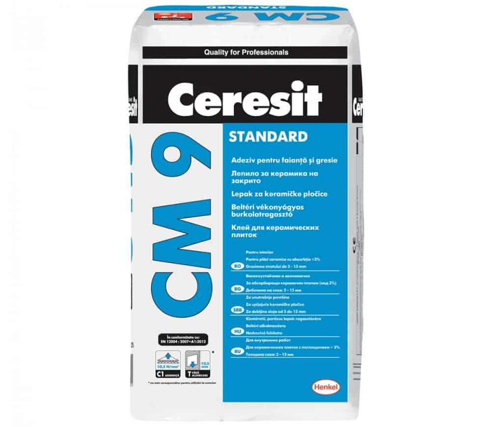 Плиточный клей Ceresit CM 9
