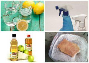 уксус и лимонный сок