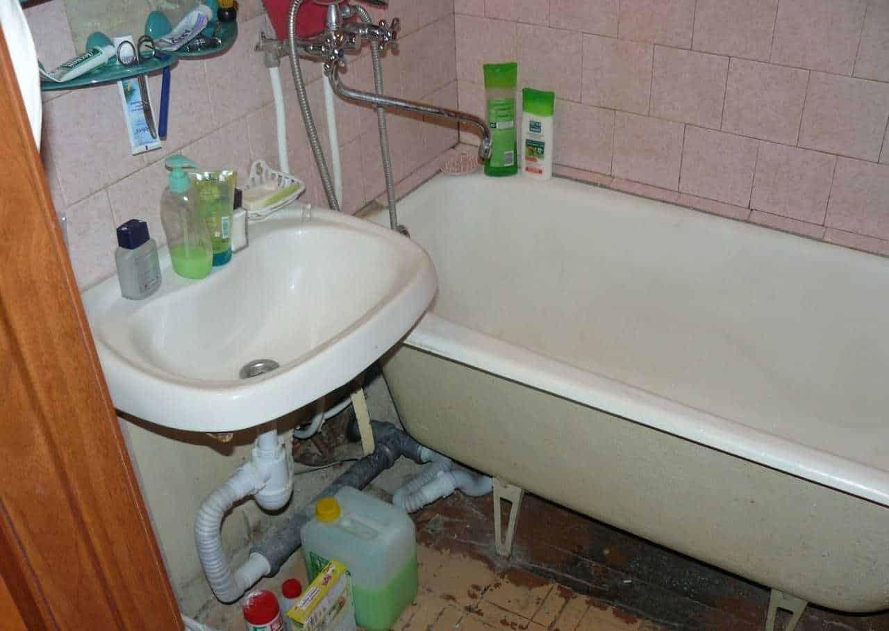 Проблемы в ванной комнате