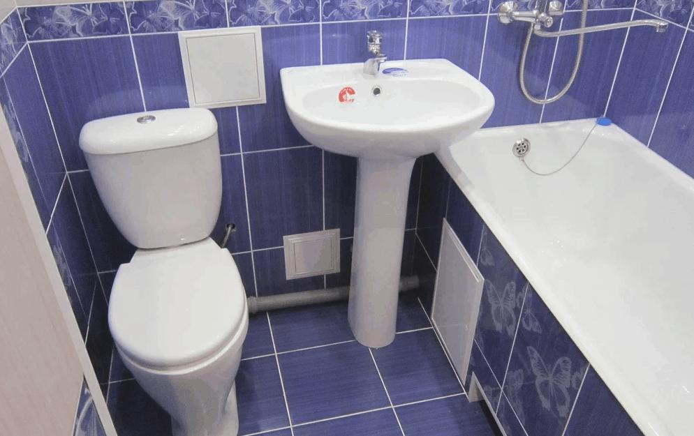 ванная комнаты из плитки