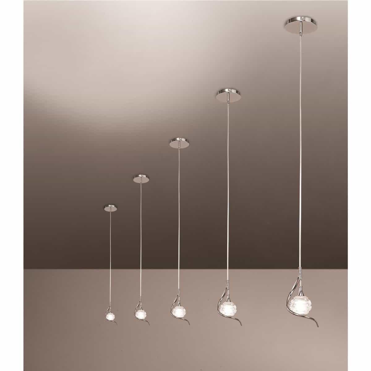 светильники-подвесы на натяжном потолке