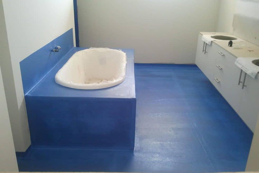 ванная с гидроизоляцией