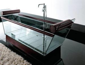 ванны из стекла