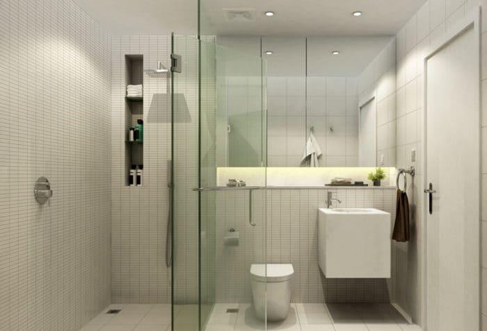 ванная с душевой