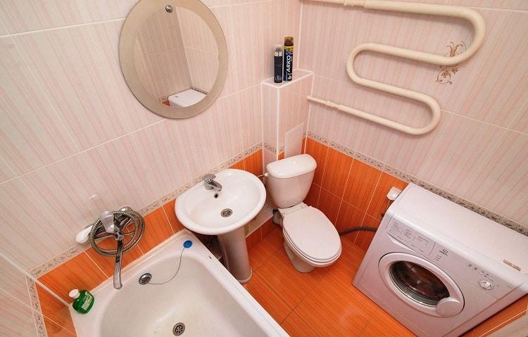 Оформления дизайна ванной комнаты