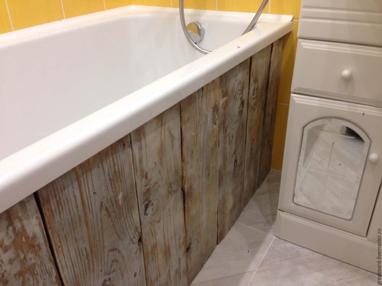 Экран по ванну деревянный