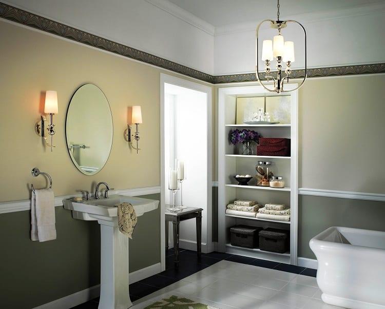 Источник света в ванной комнате