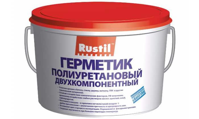 Полиуретановый герметик.