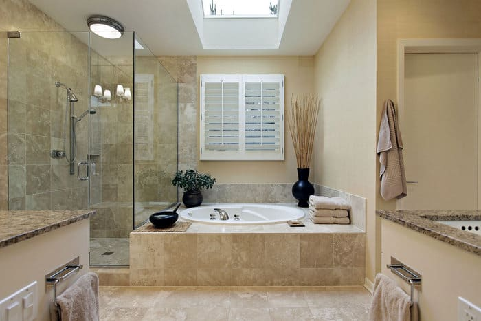 ванная комната с душевой кабиной дизайн