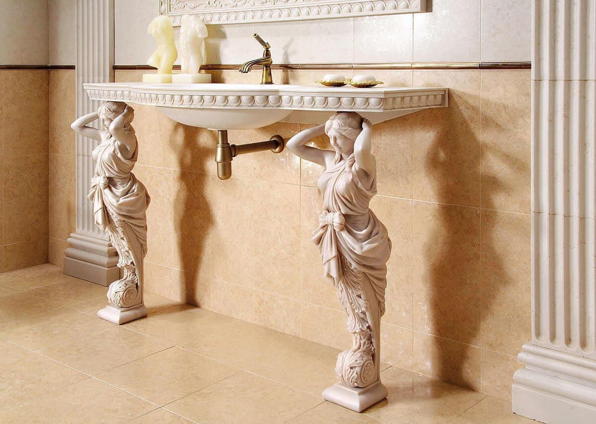 Декор в античном стиле
