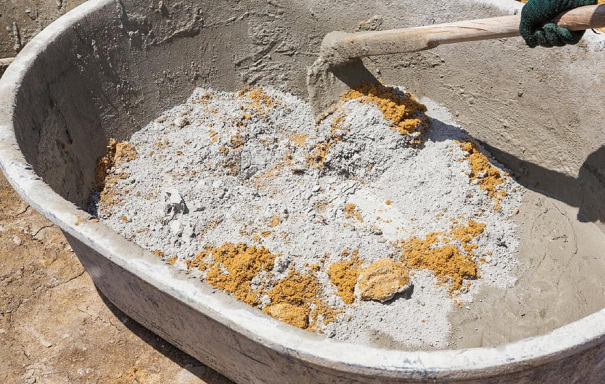 Раствор из песка и цемента