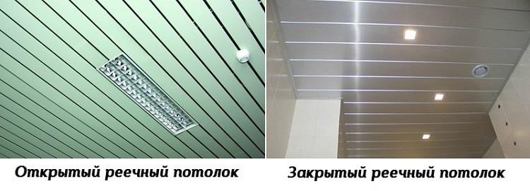 Конструкция подвесных потолков