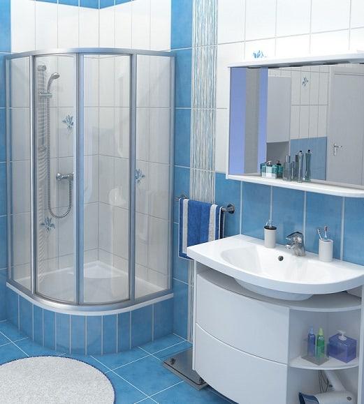 Душевые кабинки для маленькой ванны