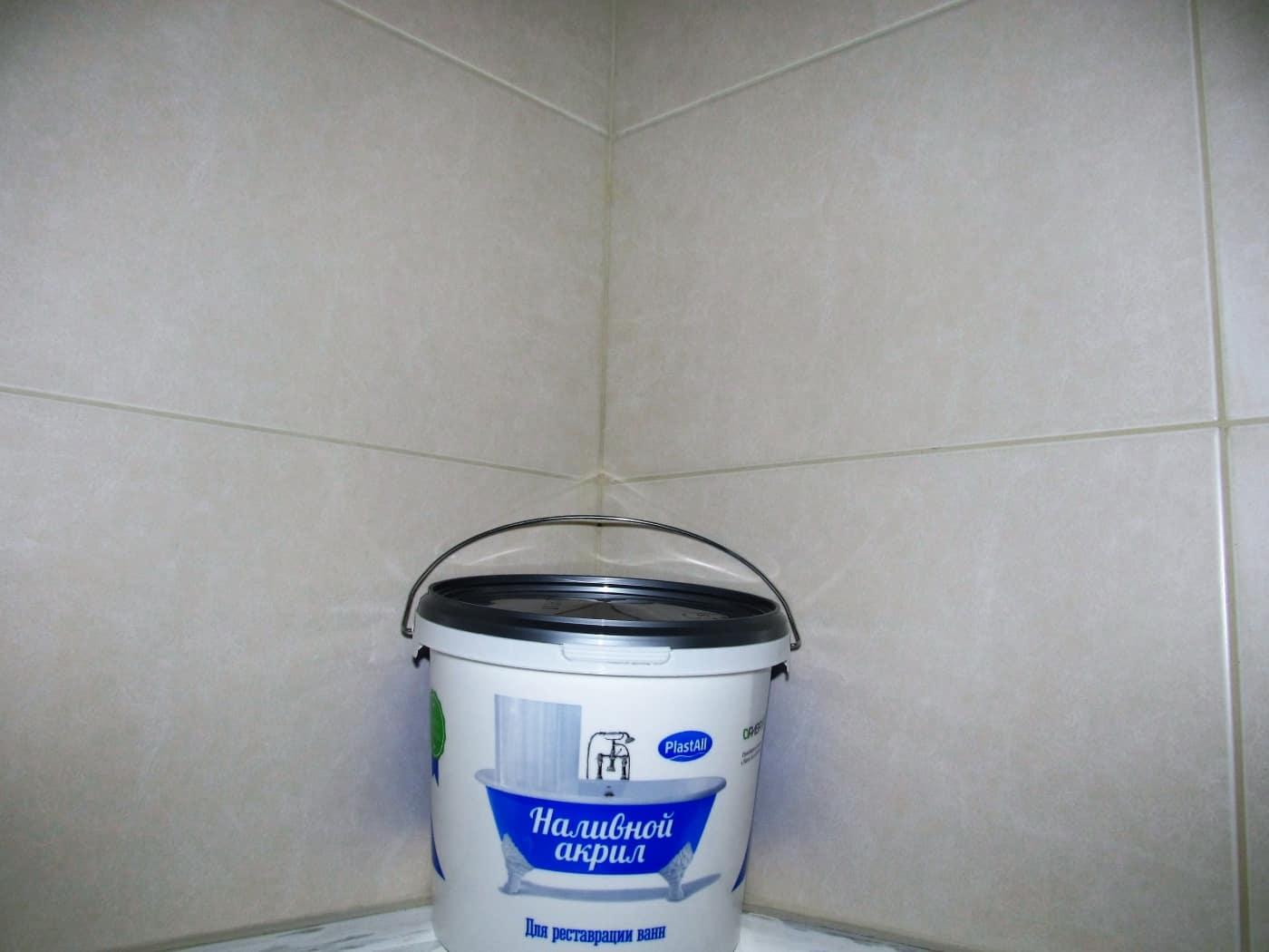 Восстановление эмали старой чугунной ванны