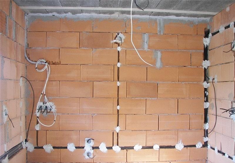 электромонтаж в ванной