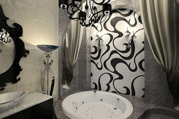 Стиль арт-деко в ванной комнате