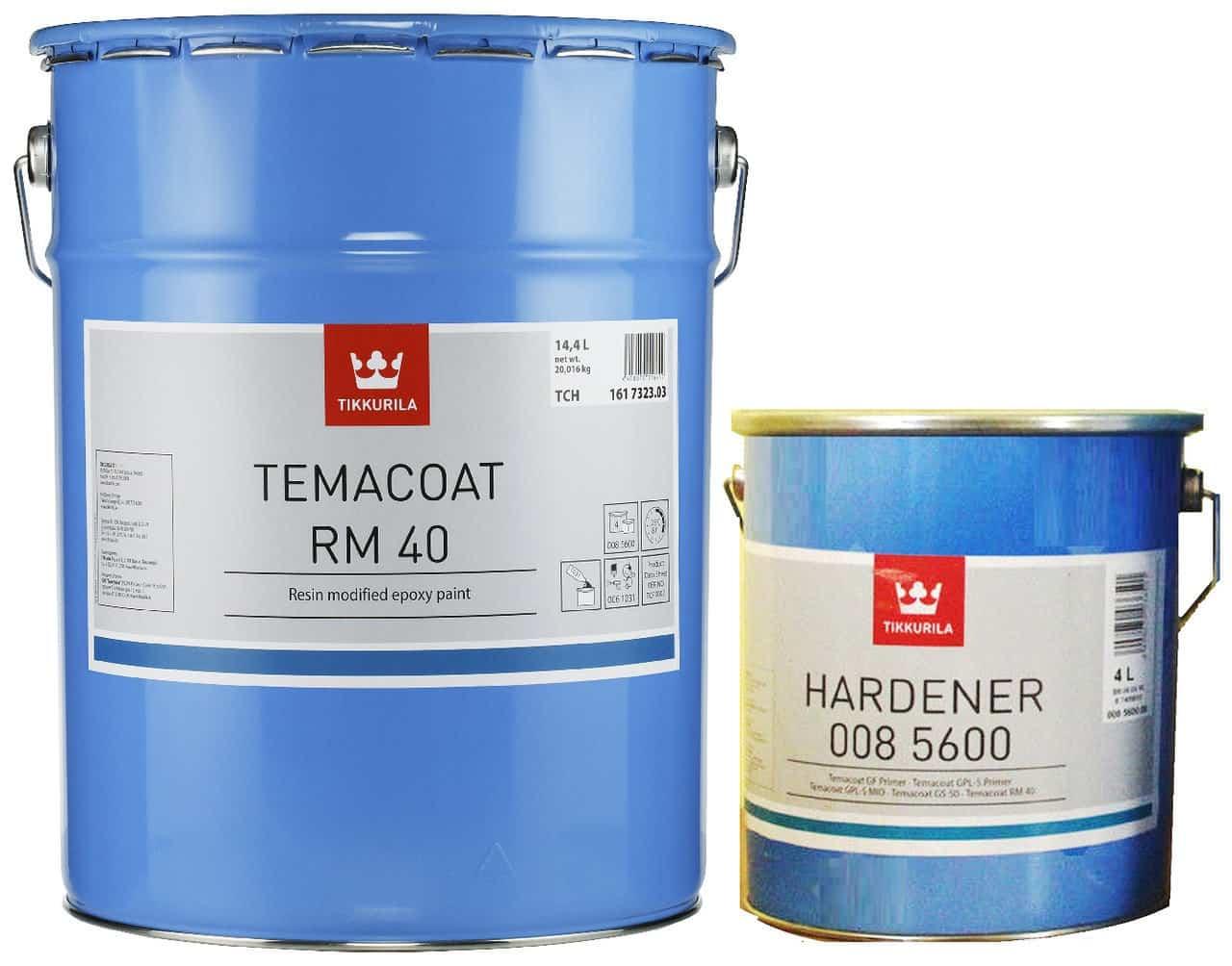 Эмаль эпоксидная Tikkurila Temacoat RM40