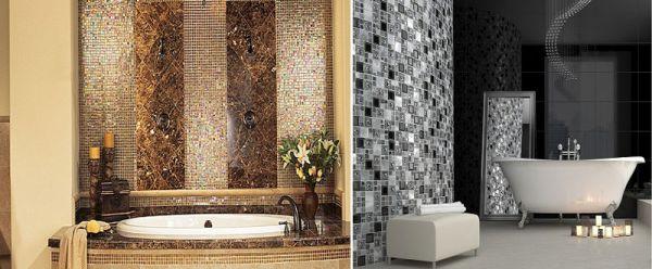 Фото мозаики в ванной