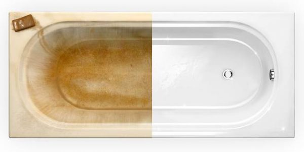 Как отбелить ванну в домашних условиях