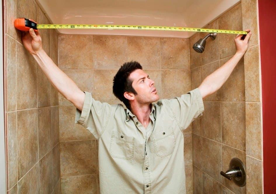 измерить периметр комнаты