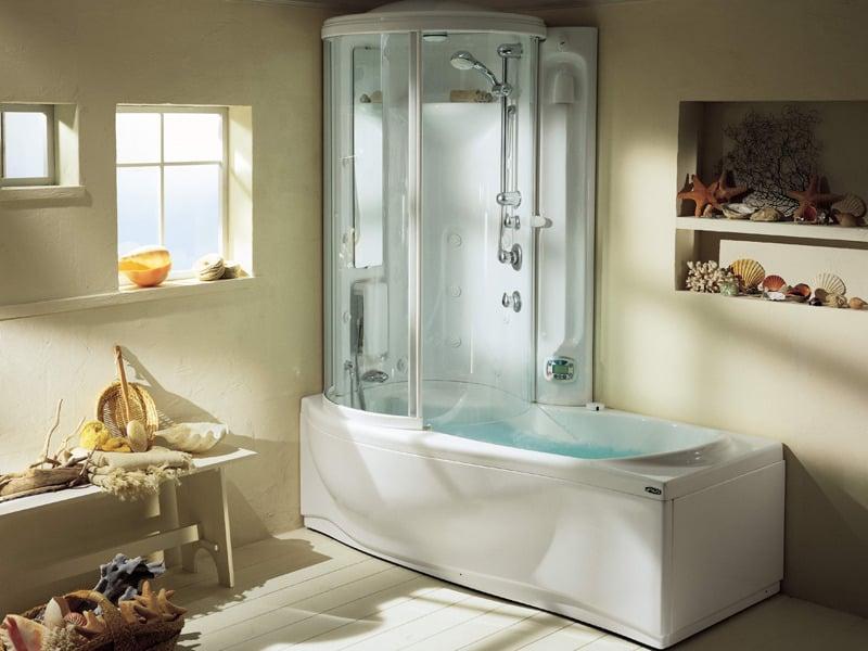 душевая кабина или ванная