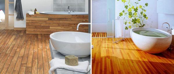 Виды древесины в ванную