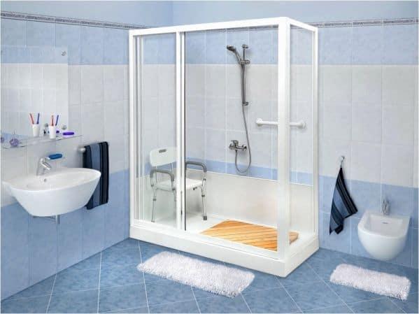 Ванная для пожилых людей