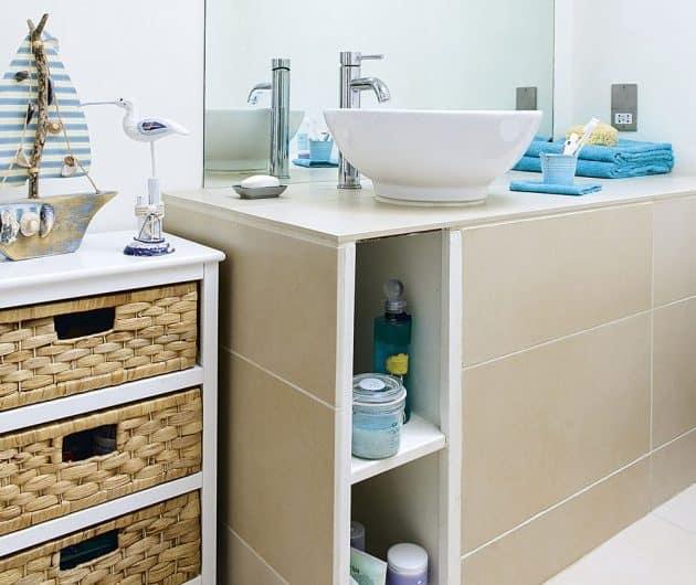 Организация хранения в ванной