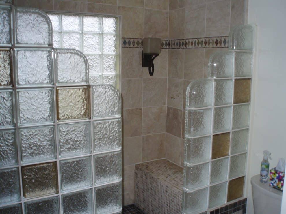 Рельефные стеклоблоки