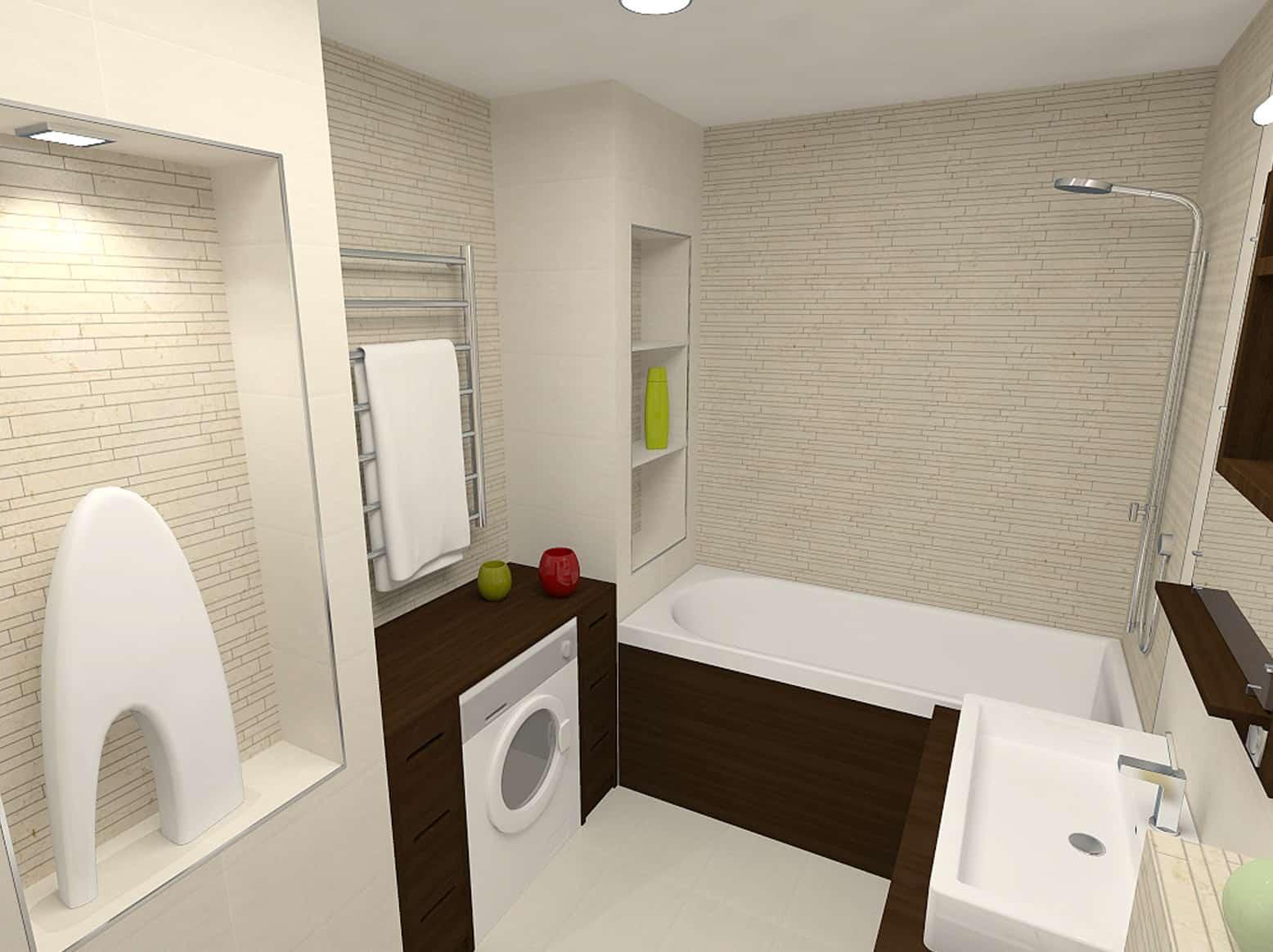 Самостоятельное создание ниши в ванную комнату