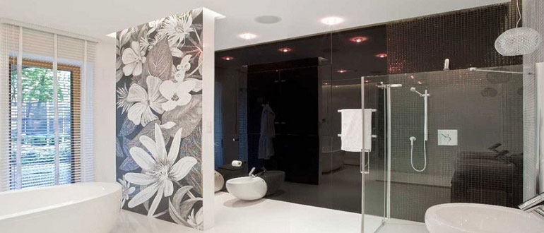 Зачем нужны перегородки в ванной комнате
