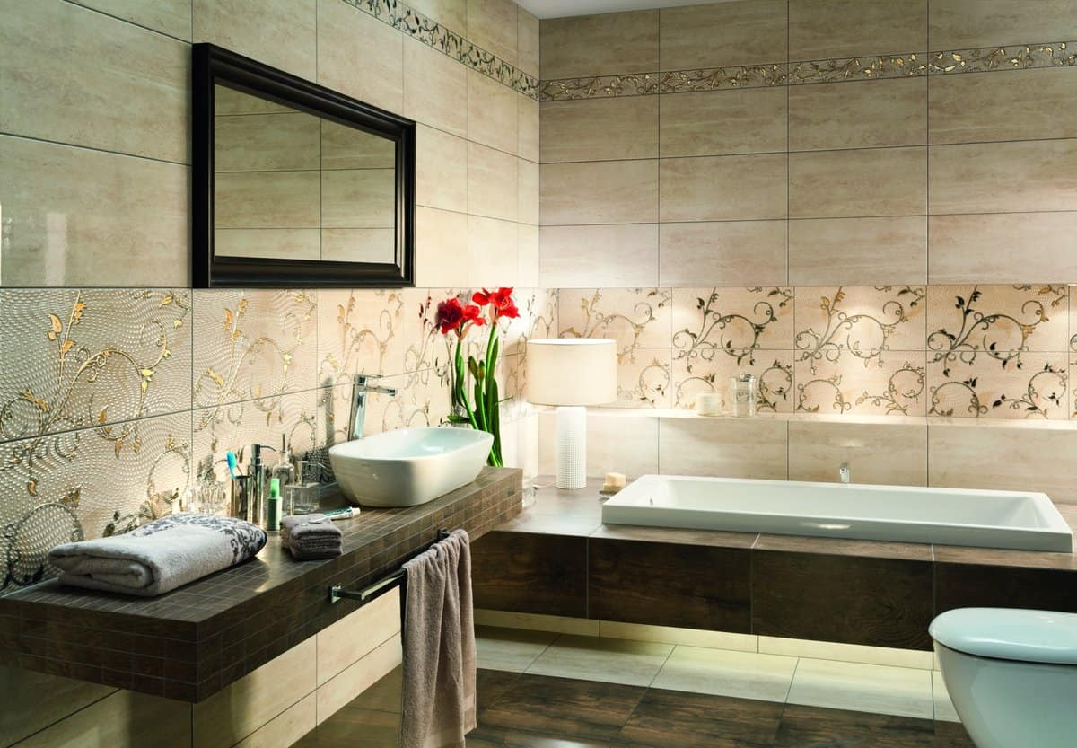 Плитка на стены в ванной