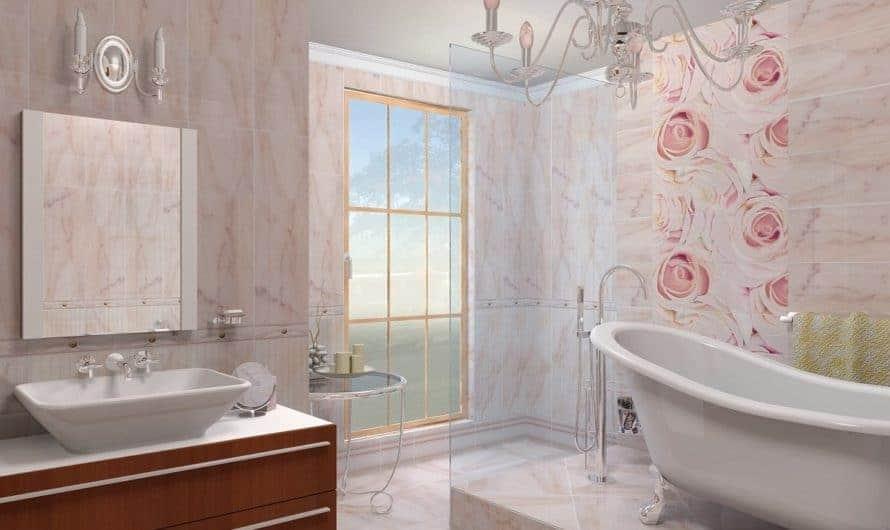 Выбор плитки на стены в ванной