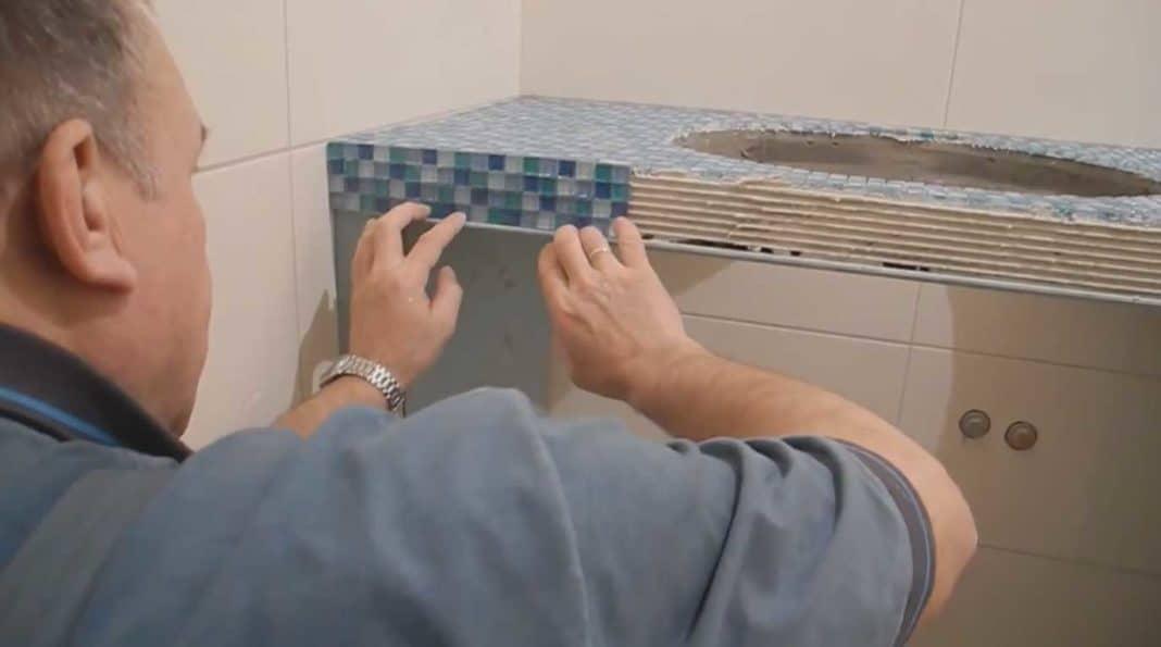 Обшивка и облицовка плиточной мозаикой