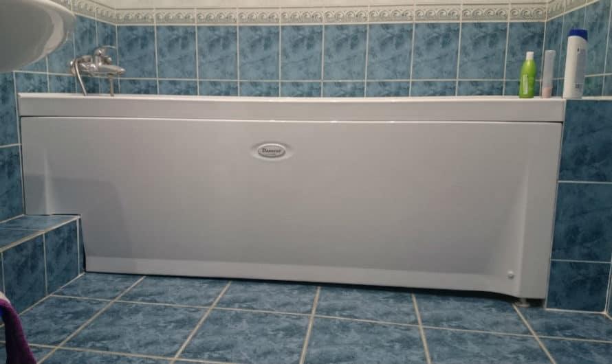 Как закрыть низ ванной от попадания влаги