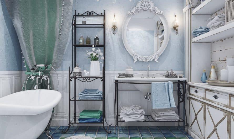 Какой должна быть ванная в стиле «прованс»