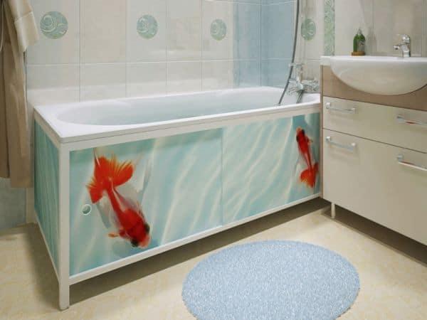 Как закрыть ванну
