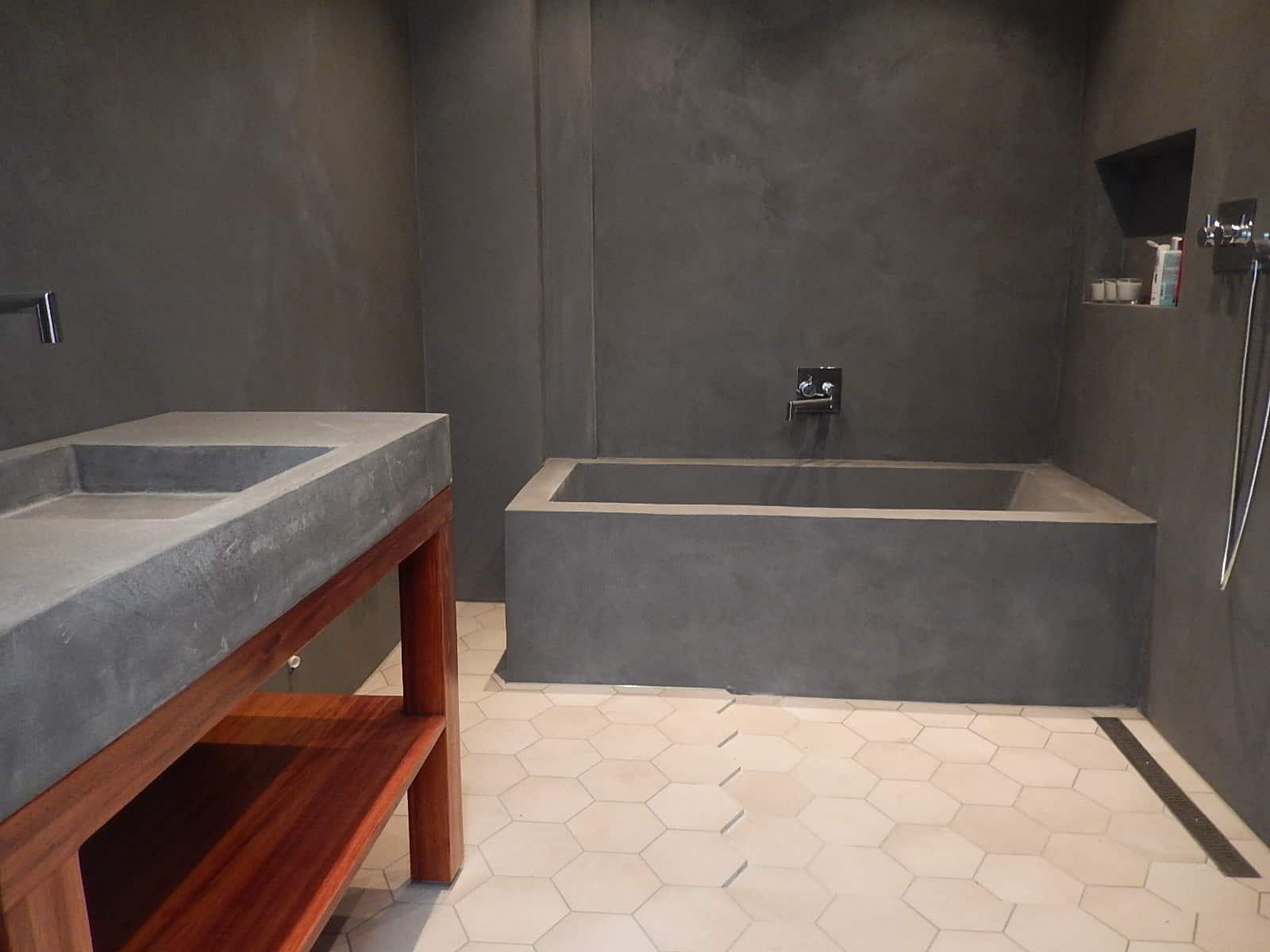 Заливка ванной бетоном