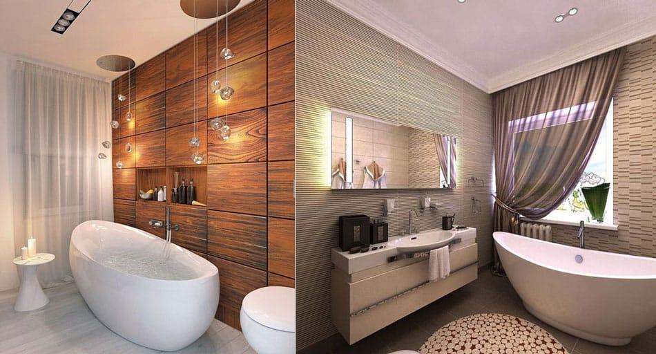 Расцветка ванной комнаты