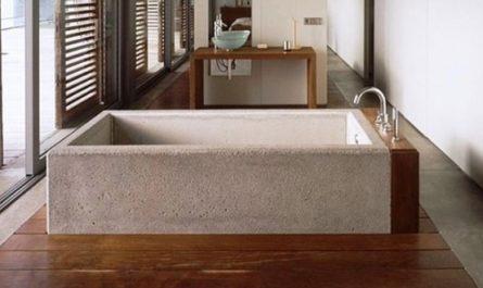 Бетонные ванны