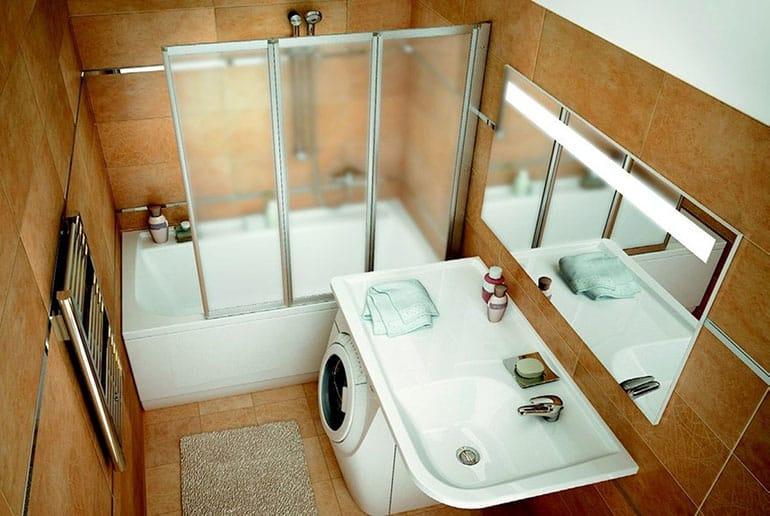 Маленькие ванны для маленьких ванных комнат