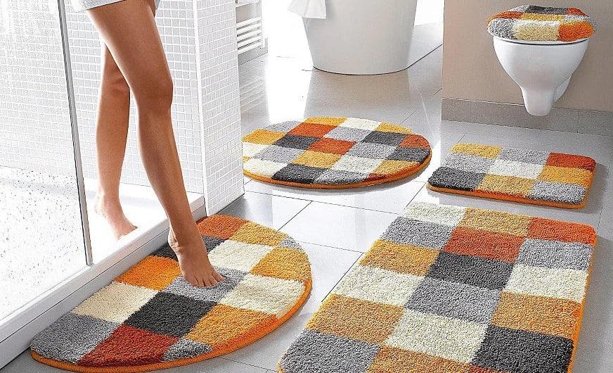 Как своими руками сделать коврик для ванной